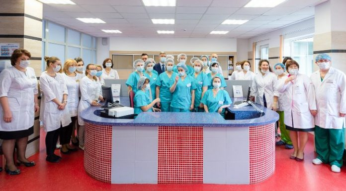 The third hospital network RZD Medicine joined the patients with COVID 19