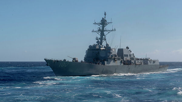 The United States sent aid to the infected COVID 19 sailors from the destroyer USS Kidd
