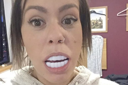 They will not fit in the mouth cheap false teeth disappointed mistress