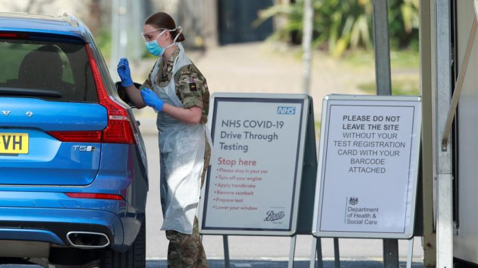 Thousands of UK healthcare workers given inaccurate Covid 19 tests minister admits