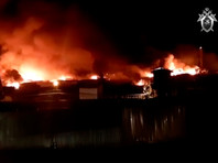 In the colony burned down eight buildings on the area of 30 thousand square meters, four production halls and buildings fire Department, training workshops and two auxiliary buildings