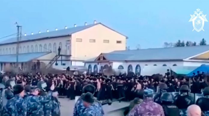 Under the rubble after the fire and riot at the Angarsk colony found the body of a prisoner
