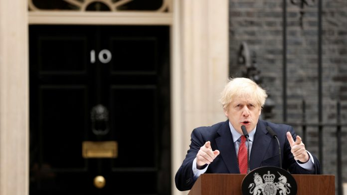 We have begun to wrestle it to the floor PM Johnson is back in the driving seat and he is in for a bumpy ride