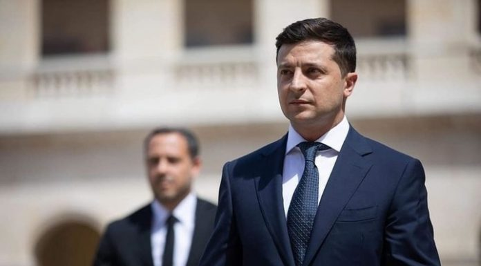 Zelensky had admitted that he was tired to fight coronavirus