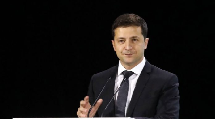 Zelensky has compared the Donbass Reichstag