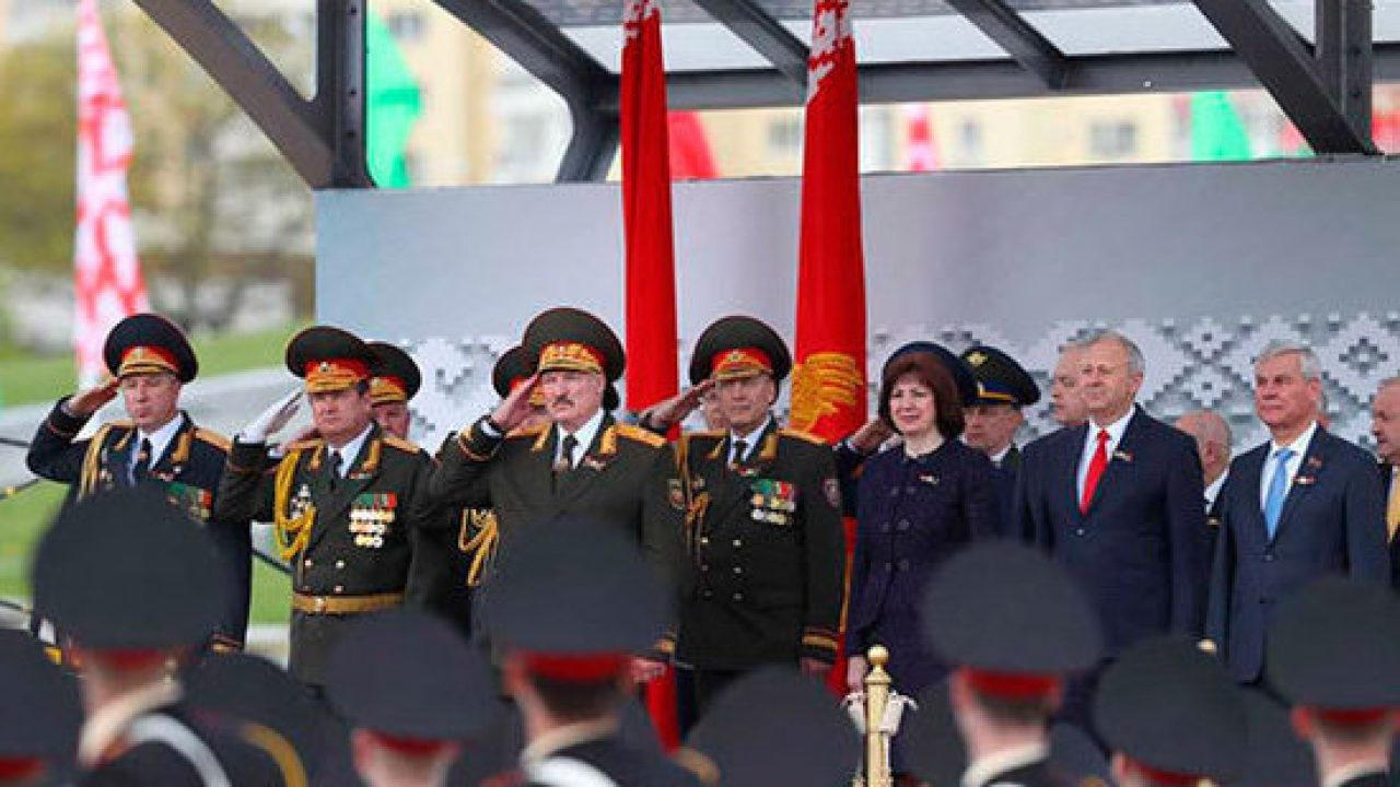 The parade of the Victory in Belarus, Lukashenko decided to scare ...