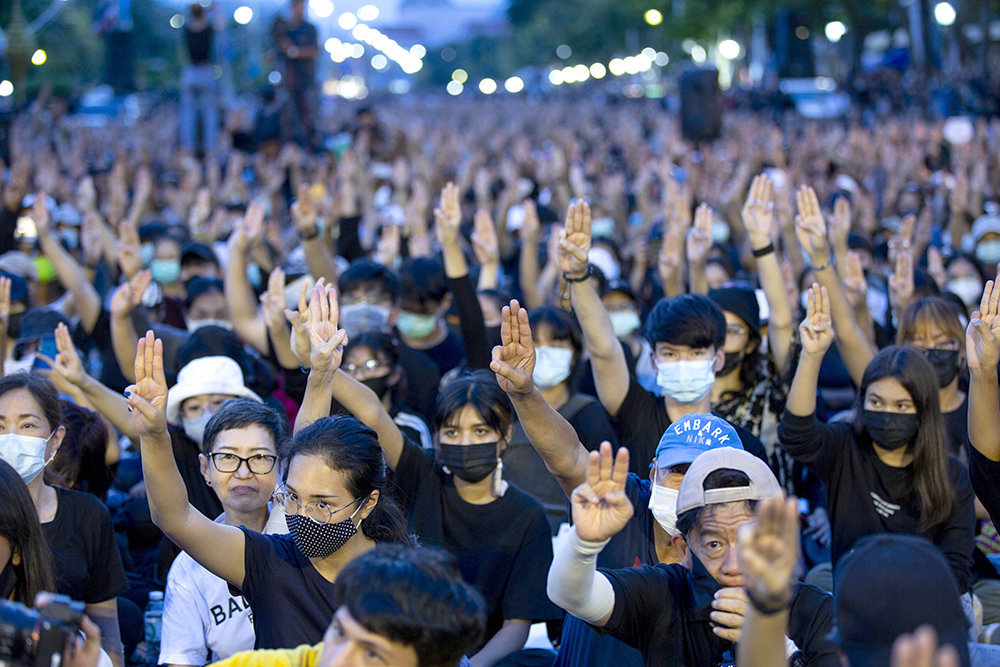 In Thailand are the largest since the 2014 protests | KXan 36 Daily News