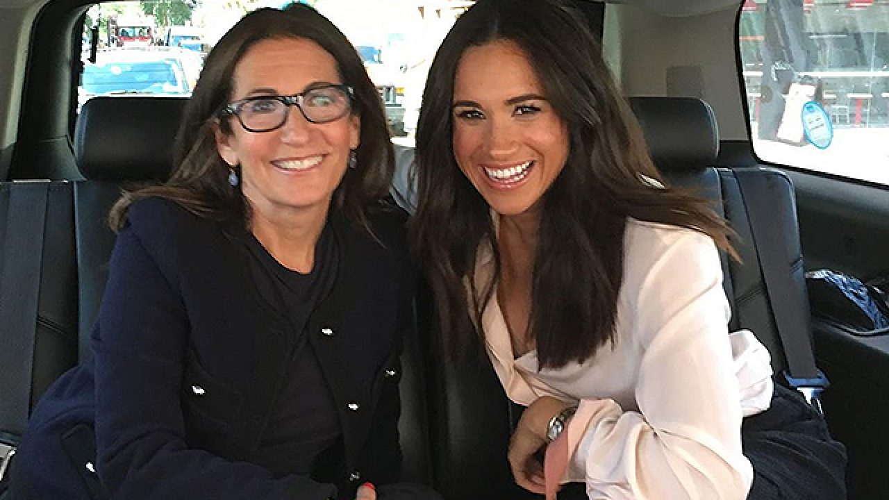 A make-up artist Bobbi brown remembered about working with Meghan ...