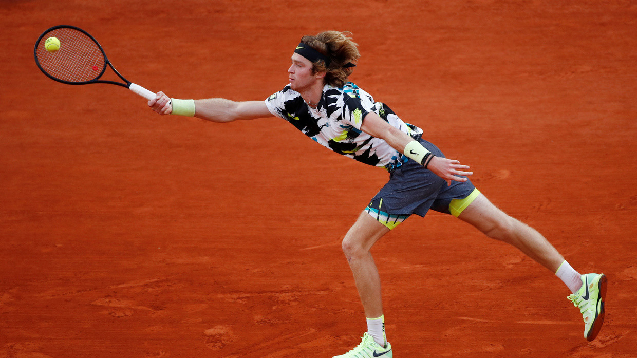 Not a big match player yet Fans rue defeat for rising Russian star Rublev  as Tsitsipas books French Open semifinal spot | KXan 36 Daily News