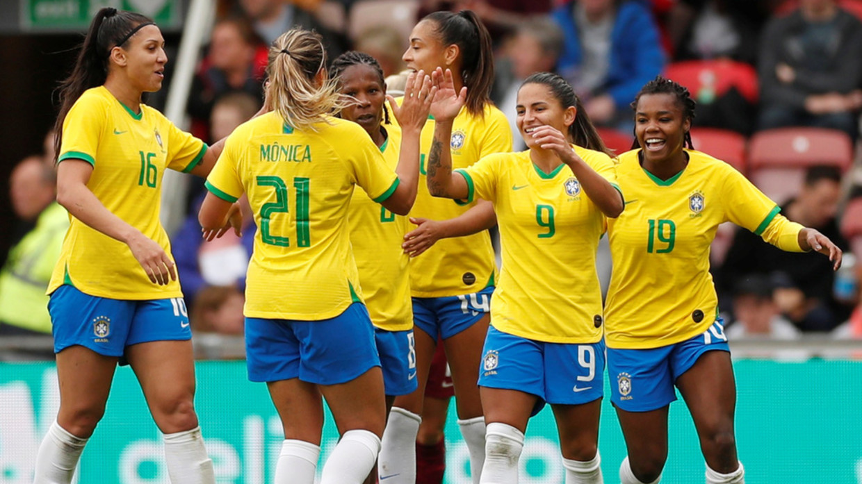 Feminists will go crazy Backlash over pay row as Brazil womens football  team lose 6 0 to under 16s male side in hour long game | KXAN36 - Austin  Daily News